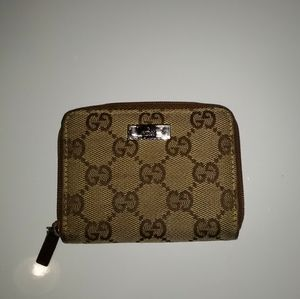 Gucci GG Cardholder Coin Purse Small Wallet